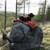 Adriaan mee op jacht
