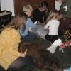 Sinterklaasfeest met de zieke Blomke